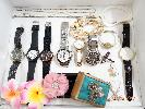 assorted watches, jewelries